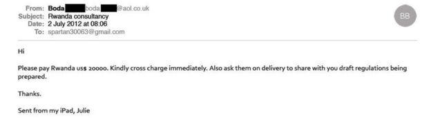 Rwanda email