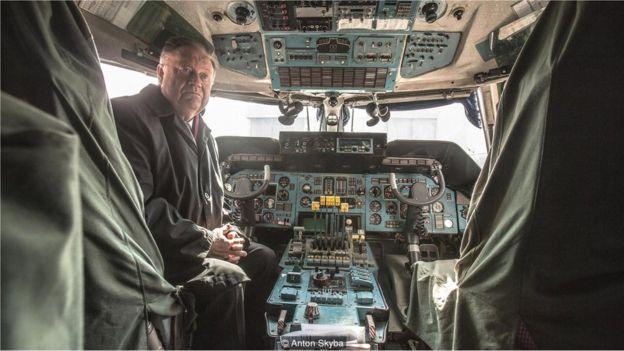 lexander Galunenko, orang pertama yang menerbangkan Pesawat Antonov An-225.