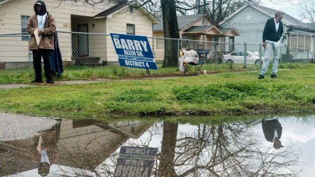Voters in Selma