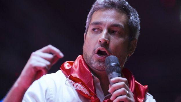 巴拉圭總統當選人阿布鐸
