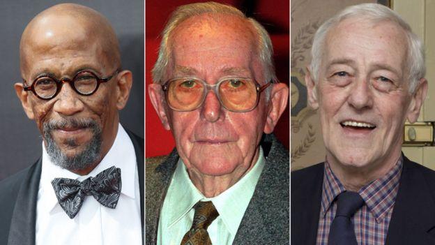 Reg E Cathey, Lewis Gilbert and John Mahoney