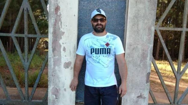 Anderson Rodrigo Reis, que sobreviveu a um acidente em silo em Paranapanema (SP)