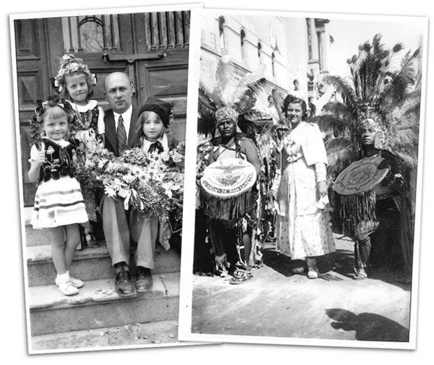 Desfiles festivos en León