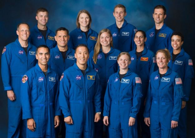 Astronauts of 2017