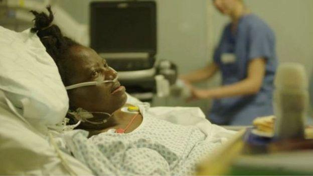 المريضة النيجيرية بريسيليا