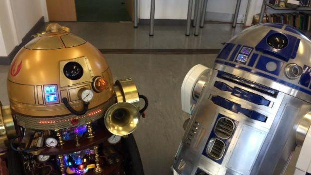 Aber Uni Robotics Club: Mini-Mars, automated cars and R2-D2 - BBC News