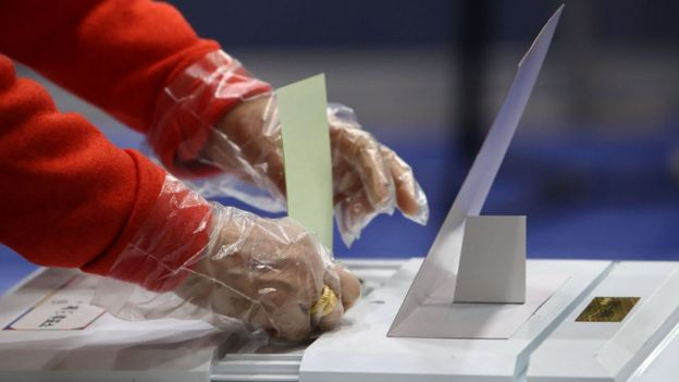 South Korea Hold Its Parliamentary Election Amid The Coronavirus Outbreak
