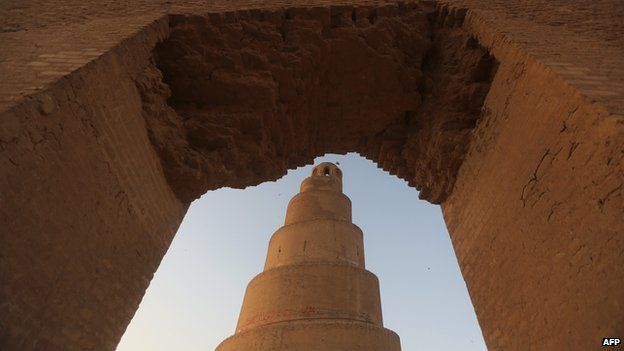 Samarra, north of Baghdad, Iraqi Malwiya minaret