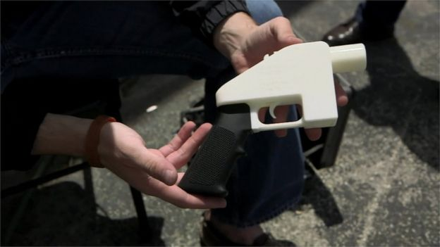 Plastic gun prototype