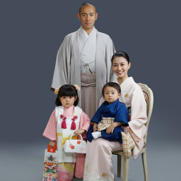 Mao Kobayashi with her family