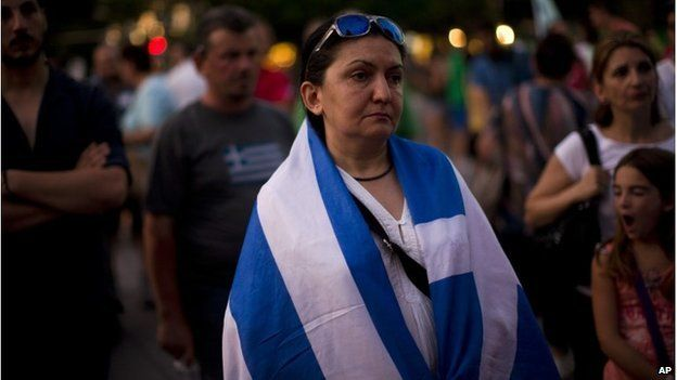 Greece protestor