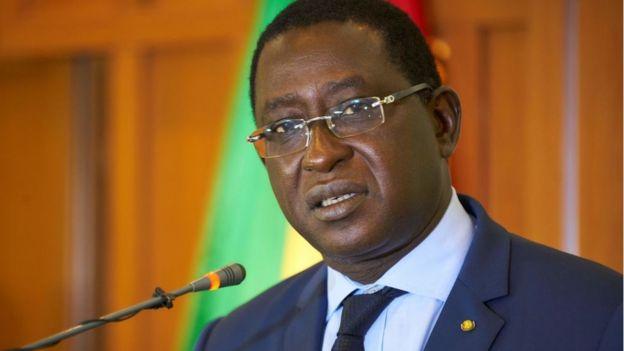 Soumaïla Cissé, leader du principal parti de l'opposition malienne