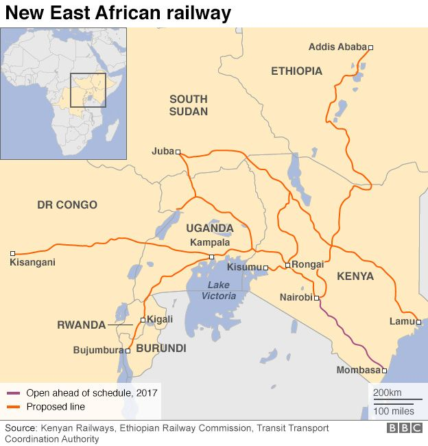Kenya opens Nairobi-Mombasa Madaraka Express railway - BBC News on tanzania road map, brazil road map, paris road map, pakistan road map, london road map, manzini road map, mozambique road map, morocco road map, africa road map, beijing road map, malaysia road map, malta road map, namibia road map, alexandria road map, miami road map, toronto road map, ghana road map, nigeria road map, colombo road map, goa road map,