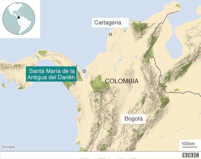 La Increible Y Triste Historia De Santa Maria De La Antigua Del