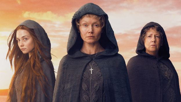 Jessica Barden, Essie Davis and Ann Dowd star in Lambs of God
