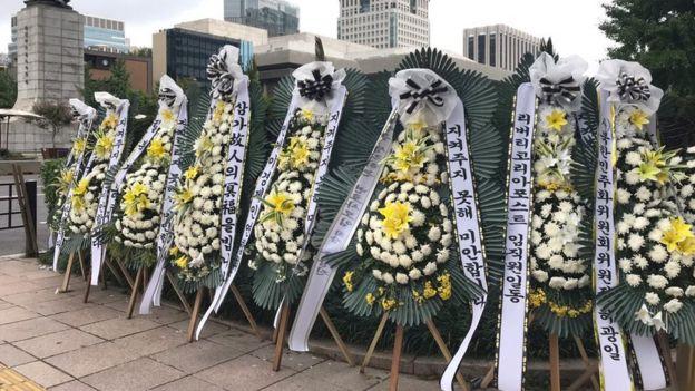 首爾,脫北者的靈堂