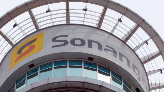 Una oficina de Sonangol en Londres