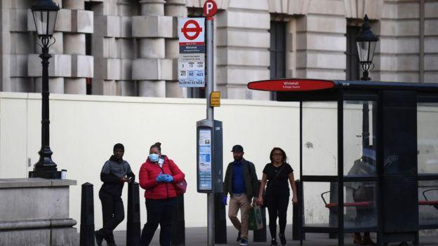 محطة للحافلات في لندن