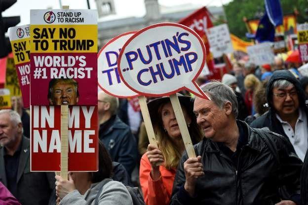 تظاهرات در لندن