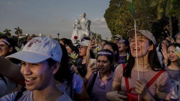Kadınların protestosu