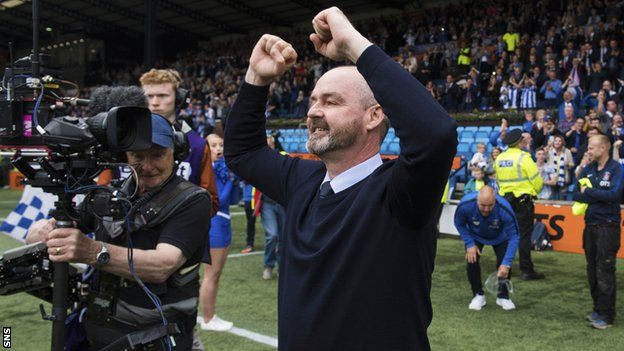 1d0831649cf Steve Clarke is named new Scotland manager on three-year deal - BBC ...