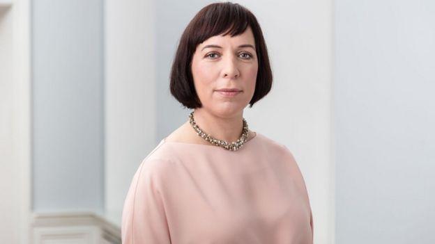 La ministra de Educación e Investigación de Estonia, Mailis Reps.