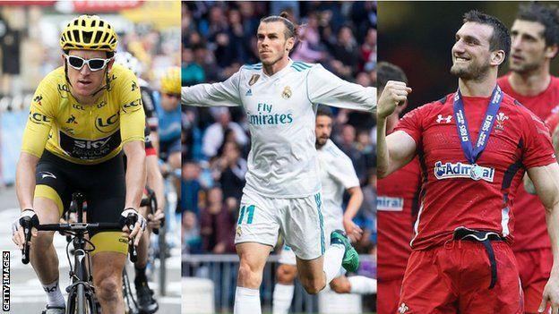 Geraint Thomas, Gareth Bale, Sam Warburton