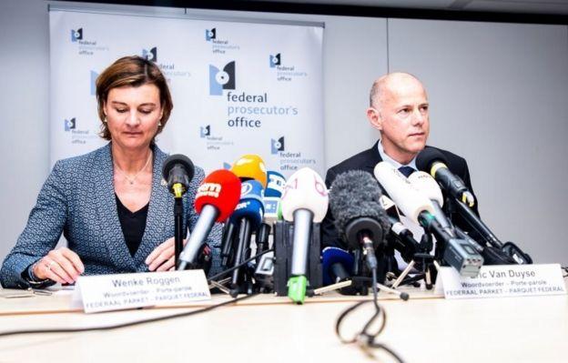 Belçika'da federal savcılar Wenke Roggen ve Eric Van Duys