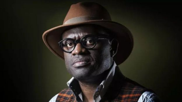 Le romancier franco-congolais Alain Mabanckou