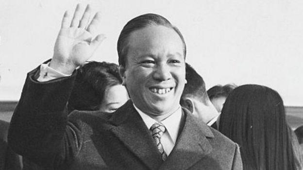 Tổng thống VNCH Nguyễn Văn Thiệu, hình chụp 1973