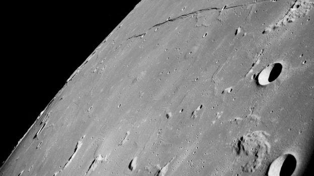 Los miembros del Apolo 8 fueron los primeros en ver el lado oculto de la Luna.