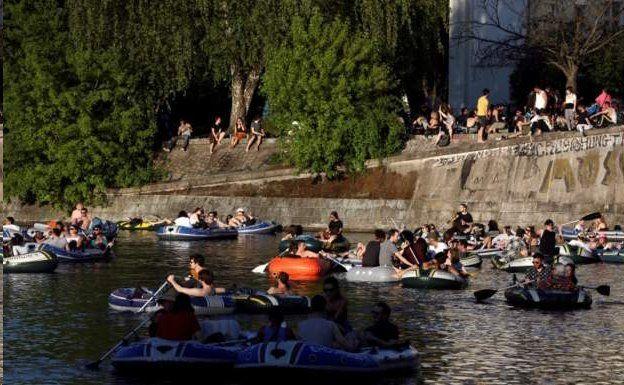 مردم برلین در تعطیلات آخر هفته