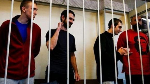 За інформацією джерел кількох видань, українських моряків, захоплених у Керченській протоці, готують до обміну