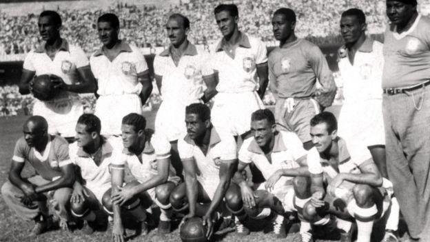 timnas Brasil di Piala Dunia 1950