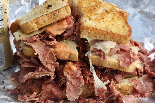 Tremendo sándwich