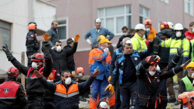 Istanbul Apartment Block Collapse Shocks Turkey Bbc News