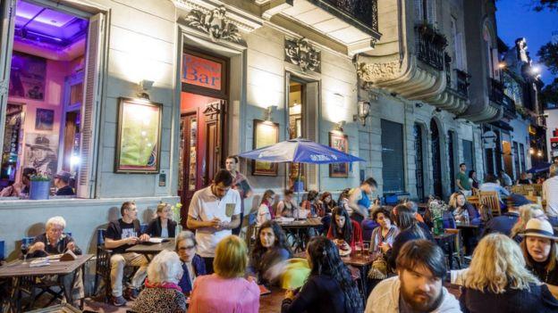 Аргентинцы привыкли к европейскому образу жизни