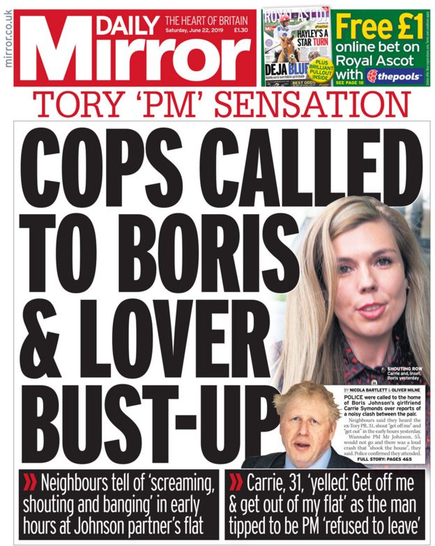 STARTING GUN: Tory leadership starts today.  - Page 3 _107495606_daily-mirror-front-page-22
