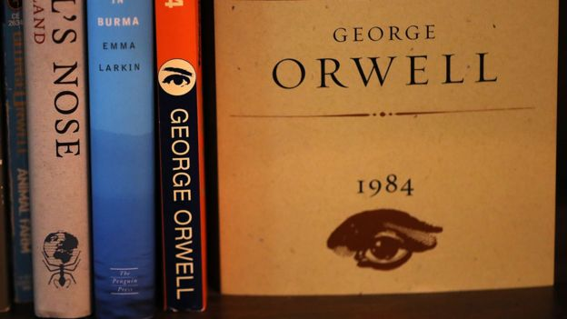 """""""1984"""" y otros libros de George Orwell"""