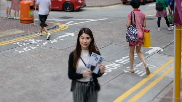 Jocelyn Chau từng bị cảnh sát bắt giữ vì livestream các cuộc biểu tình