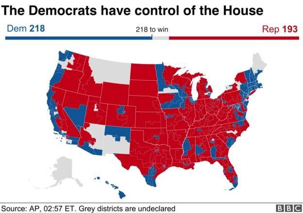 米中間選挙】 民主党が下院を奪還、政権に打撃 トランプ氏は上院勝利を ...