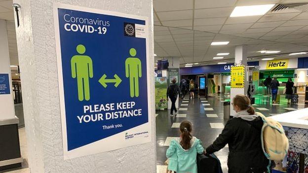 Аэропорт в Великобритании