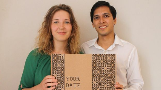 Young entrepreneur Caroline Haegeman and her partner Jai