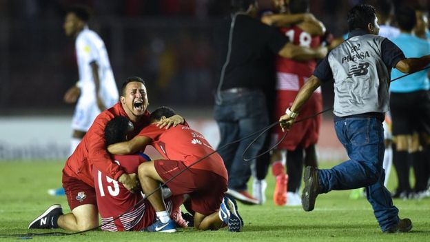 Jugadores de Panamá