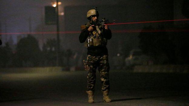 Бойцы афганских сил безопасности