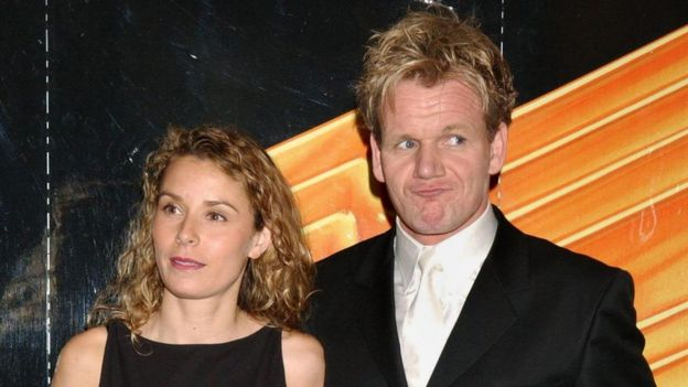 Gordon and Tana Ramsay
