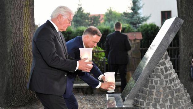 德國總統和波蘭總統參加紀念活動