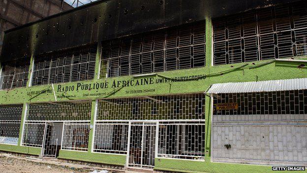 Damaged Radio Publique Africaine