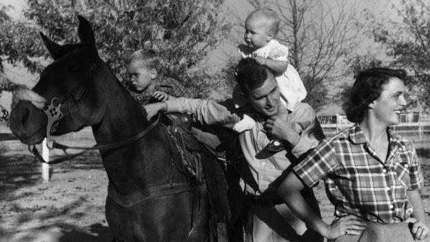 George - Barbara çiftinin altı çocuğu olmuştu