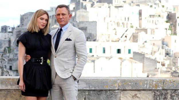 Daniel Craig dan Lea Seydoux